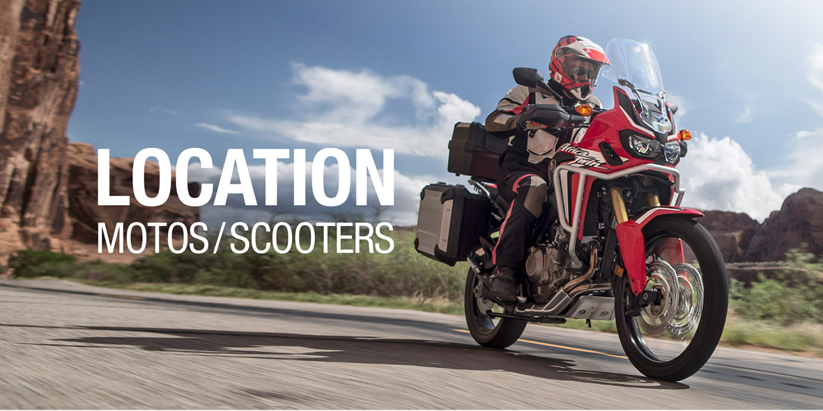Locations Motos / Scooters