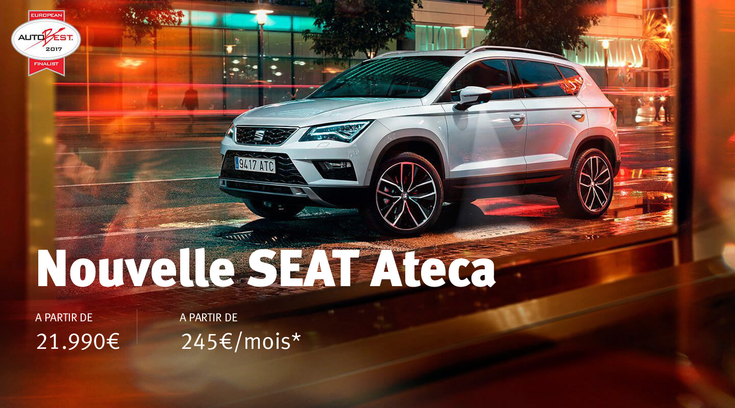 VEHICULES NEUFS<br>SEAT