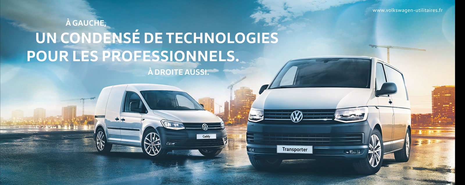 VEHICULES NEUFS<br>VW UTILITAIRES
